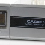 photo of vintage-casio-calculator MQ-2 front view 2