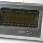 photo of vintage-casio-calculator MQ-2 lcd view