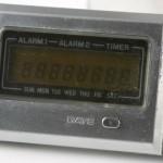 photo of vintage-casio-calculator MQ-2 lcd view