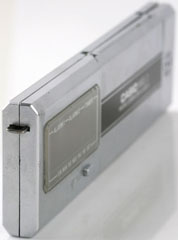photo of vintage-casio-calculator MQ-2 side view sm