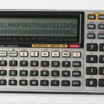 photo of vintage-casio-fx-880p-calculator front view