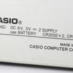 photo of vintage-casio-fx-880p-calculator back view 2