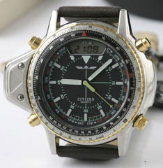 photo of nos vintage-citizen-aerochron-c046-1st front view sm