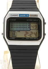photo of vintage-rare-casio-game-10-gm-10 front view sm