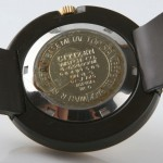 photo of vintage-citizen-bakelite-art-deco-auto back view