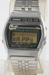 photo of vintage casio-melody-alarm-guitar-82-m321-front view 1 sm