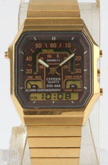 photo of vintage-citizen-30-0322-cal-8944-gold-tone-front view sm