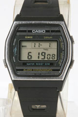 photo of vintage-casio-lefty-marlin-w-21 front view sm