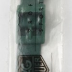 photo of-nos-heuerf1-formula1-rubber-band-green-18mm-mid-size front view