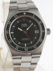 photo of vintage-omega-seamaster-electronic-f300hz-diver front view-1 sm