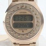 photo of nos-vintage-citizen-gold-calculator-59-2021 front view