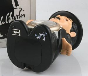 nos rhythm charlie chaplin clock-7